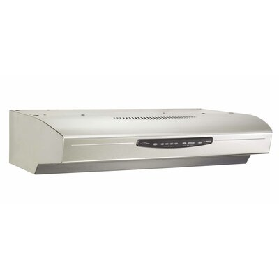 "42"" 430 CFM Convertible Under Cabinet Range Hood Finish: Stainless Steel"