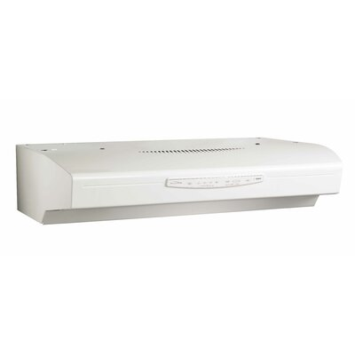 "42"" 430 CFM Convertible Under Cabinet Range Hood Finish: White"