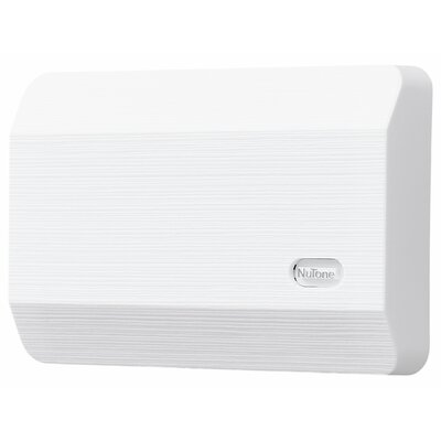 Decorative Wired Door Chime Finish: White