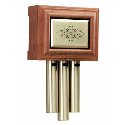 Traditional Musical Wired Door Chime Finish: Walnut