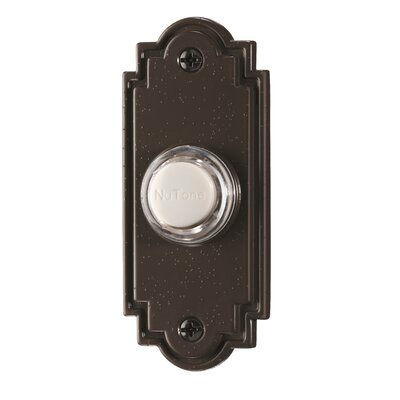 Lighted Flat Pushbutton Finish: Oil Rubbed Bronze