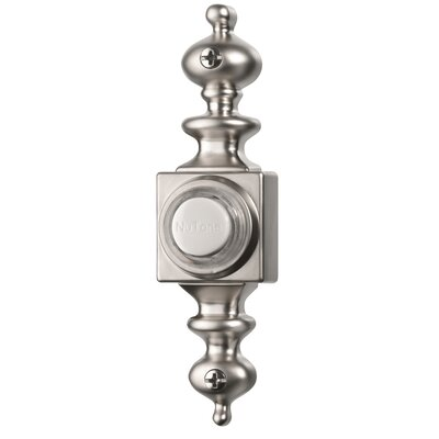Lighted Dimensional Pushbutton Finish: Satin Nickel
