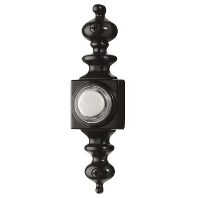 Lighted Dimensional Pushbutton Finish: Black