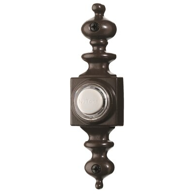 Lighted Dimensional Pushbutton Finish: Oil Rubbed Bronze