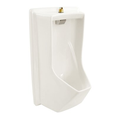 Lloyd ADA Compliant Urinal with Electronic Flush Valve Finish: Cotton