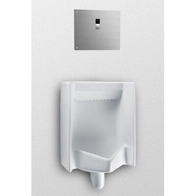 Back Spud Commercial Washout Urinal Finish: Sedona Beige