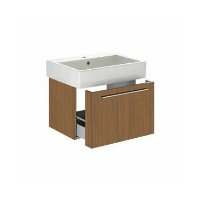 "Vero 22"" Wall Mounted Vanity Base Base Finish: American Walnut"