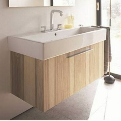 "Vero 22"" Wall Mounted Vanity Base Base Finish: American Cherry Tree"