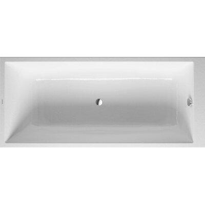 """DuraStyle 66.88"""" x 29.5'' Bathtub"""