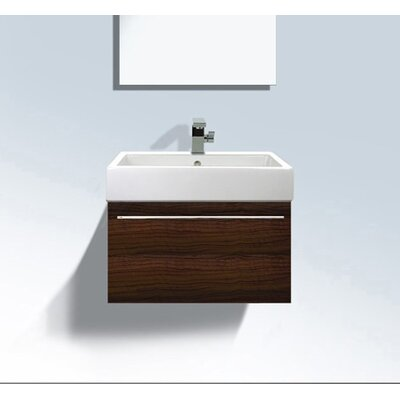 Vero Wall Mounted Vanity Base Finish: Macassar
