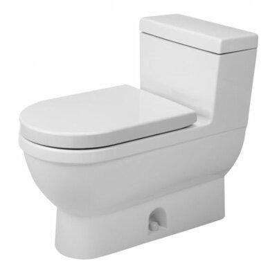 Duravit Starck 3 1.28 GPF Elongated 1 Piece Toilet