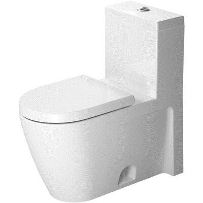 Starck 1.28 GPF Elongated One-Piece Toilet
