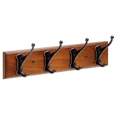 Rail Wall Mounted Coat Rack