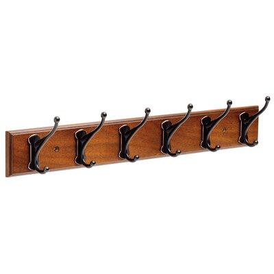Andrew Rail Wall Mounted Coat Rack