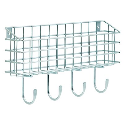 Wire Mail Basket Wall Hook