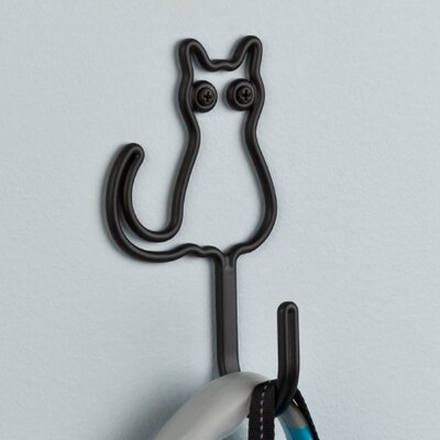 Wire Cat Wall Hook