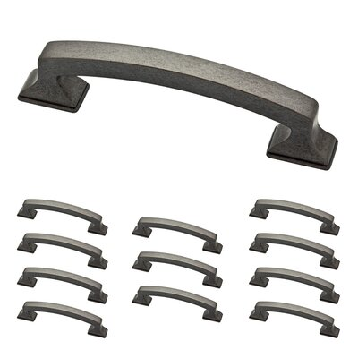 "Classic Edge 3 3/4"" Center Arch Pull Color: Soft Iron"