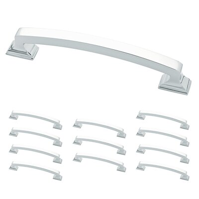 "Classic Edge 5"" Center Arch Pull Color: Polished Chrome"