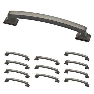 "Classic Edge 5"" Center Arch Pull Color: Soft Iron"