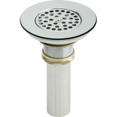 "1.5"" Grid Shower Drain Material: Stainless Steel"