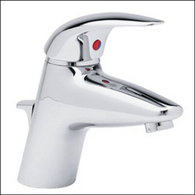 Allure Single hole Bathroom Faucet Finish: Brushed Nickel