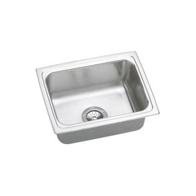 """Elkay Gourmet 25"""" x 19.5"""" Top Mount Kitchen Sink"""