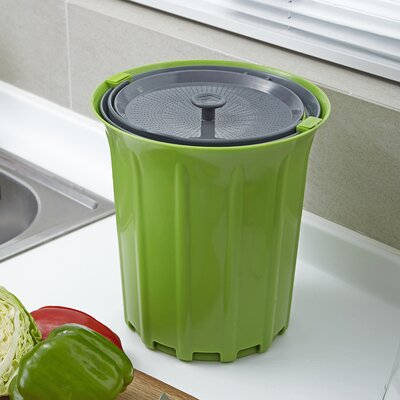 Breeze 0.85 Gal. Kitchen Composter Color: Green Slate
