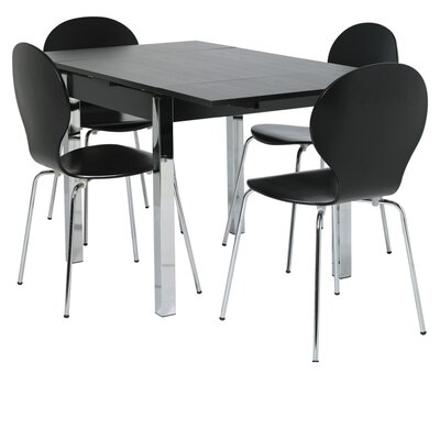 Altruna Dining Extendable Table and 4 Chairs