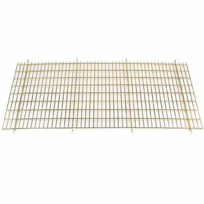 """Floor Grate Cage in Gold Size: Medium / Large (36"""" D)"""