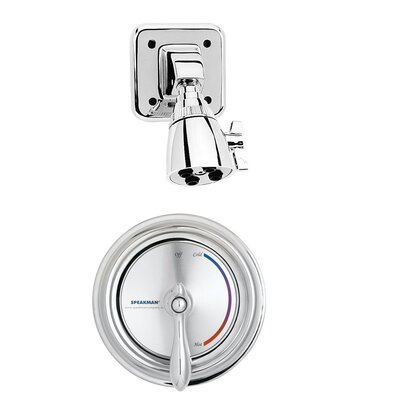 Speakman Sentinel Mark II Anti - Scald Wall Mounted Thermostatic Shower Faucet