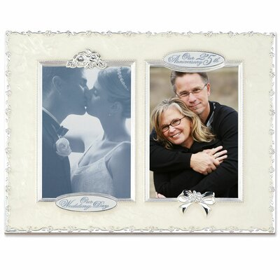 Lawrence Frames 25th Anniversary Double Opening Picture Frame