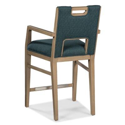 "26"" Bar Stool Upholstery: 3328 Flax"