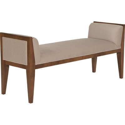 Upholstered Bench Upholstery Color: 9579 Sand