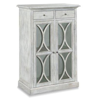 2 Door Accent Cabinet Color: Pebblestone