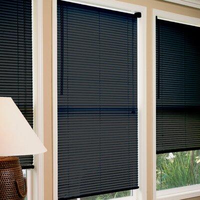 """Venetian Blind Color: Black, Size: 70"""" W x 64"""" L"""