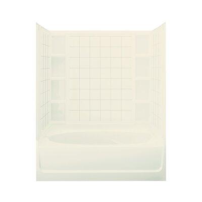 "Sterling by Kohler Ensemble 42"" Bath/Shower Kit with Right Hand Drain"