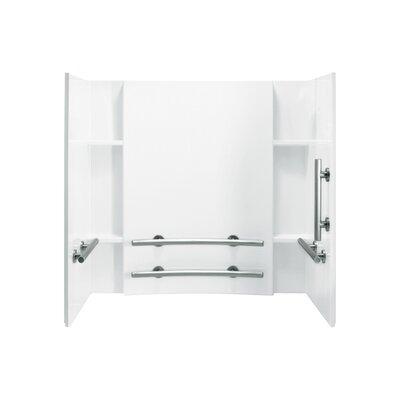 "Sterling by Kohler Accord 3-Piece 32"" x 60"" x 74"" ADA Wall Set"
