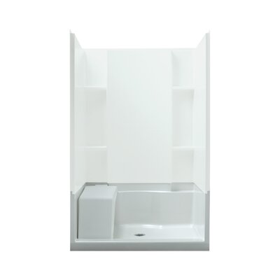 "Sterling by Kohler Accord 48"" x 36"" Seated Shower Receptor"