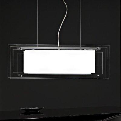 Selene Illuminazione Geometrische Pendelleuchte 3-flammig Spioncina