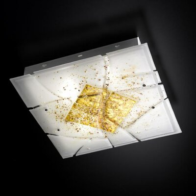 Selene Illuminazione Deckenleuchte 2-flammig Frame