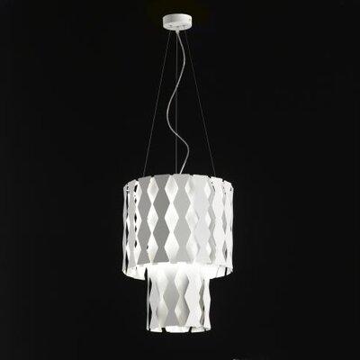 Selene Illuminazione Trommel-Pendelleuchte 4-flammig Nest