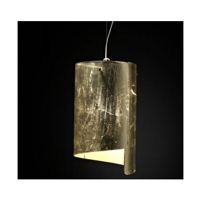 Selene Illuminazione Mini-Pendelleuchte 1-flammig Papiro