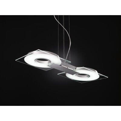 Selene Illuminazione Design-Pendelleuchte 2-flammig Q