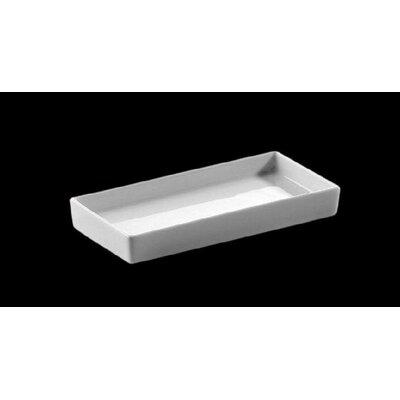 Zieher 13,5 cm x 6,5 cm Schälchen aus Porzellan in Weiß (12er Pack)