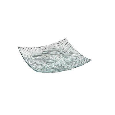Zieher 34,5 cm x 34,5 cm Schale in Klar