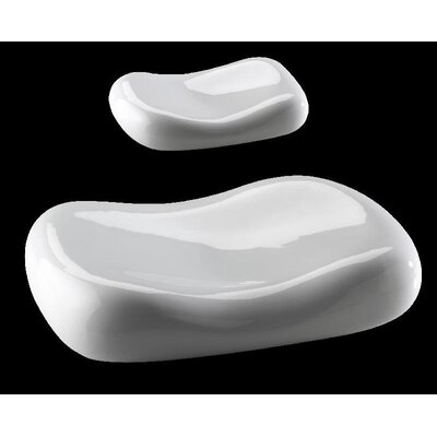 """Zieher 12,3 cm Miniatur-Kissen """"Donna"""" in Weiß (12er Pack)"""