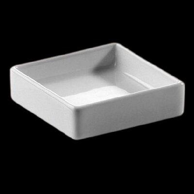Zieher 6,5 cm x 6,5 cm Schälchen aus Porzellan in Weiß (12er Pack)
