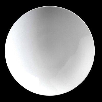 "Zieher 26 cm Teller ""Plat de Luxe"" aus Porzellan in Weiß (6er Pack)"
