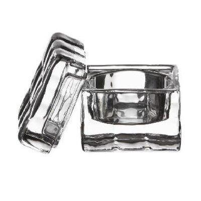 Zieher 5 cm x 5 cm Glasbox (6er Pack)