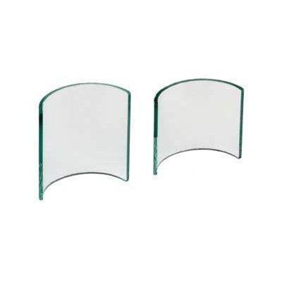 Zieher 2-tlg. Ständer-Set aus Glas